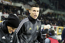 December 15, 2018 - Turin, Piedmont, Italy - Cristiano Ronaldo (Juventus FC) before the Serie A football match between Torino FC and Juventus FC at Olympic Grande Torino Stadium on December 15, 2018 in Turin, Italy. Torino lost 0-1 against Juventus. (Credit Image: © Massimiliano Ferraro/NurPhoto via ZUMA Press)