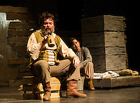 "Winnipesaukee Playhouse dress rehearsal for ""Big River"" February 13, 2013.  Karen Bobotas/for the Laconia Daily Sun"