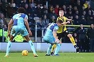 Burton Albion midfielder Jamie Allen (4) attacks during the EFL Sky Bet League 1 match between Burton Albion and Wycombe Wanderers at the Pirelli Stadium, Burton upon Trent, England on 26 December 2018.