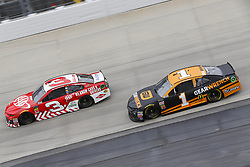 May 6, 2018 - Dover, Delaware, United States of America - Austin Dillon (3) and Jamie McMurray (1) battle for position during the AAA 400 Drive for Autism at Dover International Speedway in Dover, Delaware. (Credit Image: © Chris Owens Asp Inc/ASP via ZUMA Wire)