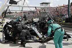 July 29, 2018 - Budapest, Hungary - Motorsports: FIA Formula One World Championship 2018, Grand Prix of Hungary, .#77 Valtteri Bottas (FIN, Mercedes AMG Petronas Motorsport) (Credit Image: © Hoch Zwei via ZUMA Wire)