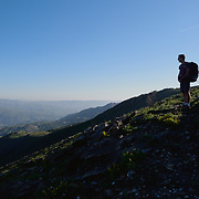 Serra do Soajo, or Soajo Mountains, one of the mountain ranges that are part of the Peneda-Gerês National Park, in the North of Portugal.