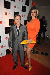 JACQUES AZAGURY and IMMODESTY BLAISE at the Scarlet TV Launch Party -  a new series of flat panel LCD televisons from LG electronics held at the refurbished church, 1 Marylebone, London on 30th April 2008.<br /><br />NON EXCLUSIVE - WORLD RIGHTS