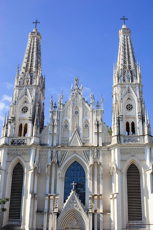 Vitoria_ES, Brasil...Catedral Metropolitana no Centro Historico de Vitoria, Espirito Santo...Metropolitan Cathedral in the historical center in Vitoria, Espirito Santo...Foto: BRUNO MAGALHAES / NITRO