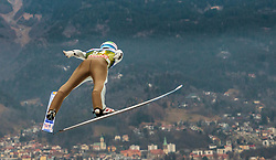 02.01.2016, Bergisel Schanze, Innsbruck, AUT, FIS Weltcup Ski Sprung, Vierschanzentournee, Training, im Bild Anders Fannemel (NOR) // Anders Fannemel of Norway during his Practice Jump for the Four Hills Tournament of FIS Ski Jumping World Cup at the Bergisel Schanze, Innsbruck, Austria on 2016/01/02. EXPA Pictures © 2016, PhotoCredit: EXPA/ JFK