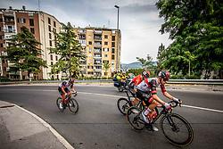 Jan Polanc, Jan Tratnik and Tadej Pogacar during Slovenian National Road Cycling Championships 2021, on June 20, 2021 in Koper / Capodistria, Slovenia. Photo by Vid Ponikvar / Sportida