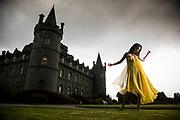 Shauna visiting Scotland with Royal Salute. Korean actress Han Go-eun