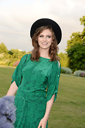 TALI LENNOX at the Fashion Rules Exhibition Opening at Kensington Palace, London W8 on 4th July 2013.