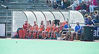 ROTTERDAM - HOCKEY - De bank van Oranje. Oefenwedstrijd tussen de vrouwen van Nederland en Duitsland (10-2) ter voorbereiding voor de HWL, volgende week. COPYRIGHT KOEN SUYK