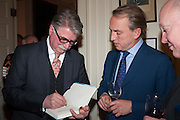 CHRISTOPHER JOLL; PHILIP MOULD; CHARLES SEBAG-MONTEFIORE, Book launch for The Speedicut Papers, edited by Christopher Joll.- Bucks Club, Clifford St. London W1.
