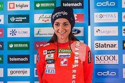 Maja Vtic of Nordic team at media day of Ski Association of Slovenia before new winter season 2018/19, on October 4, 2018 in Ski resort Pohorje, Maribor, Slovenia. Photo by Grega Valancic / Sportida