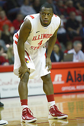 03 December 2011:  Darious Clark during an NCAA mens basketball game where the University of North Carolina at Wilmington Seahawks defeated the Illinois State Redbirds 63-54 inside Redbird Arena, Normal IL