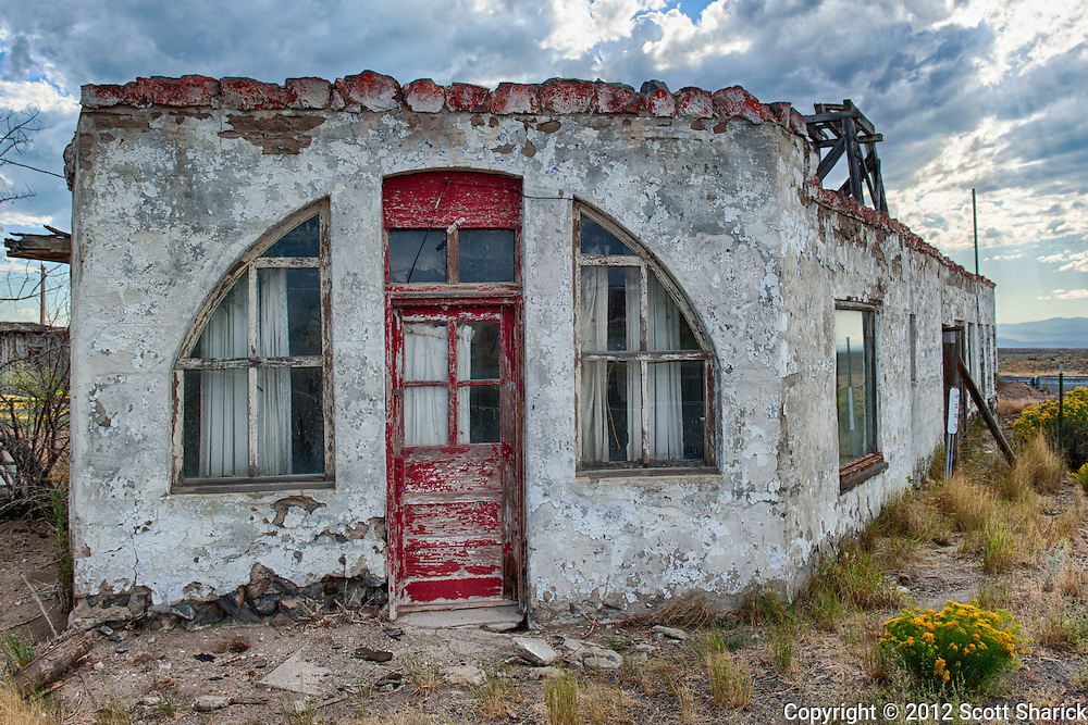 This is one of my favorite abandoned America shots along Route 20 in Oregon.