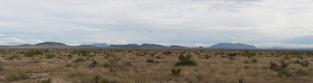 West Texas Landscapes from Marfa to Alpine to Big  Bend National Park