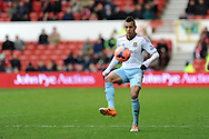 Ravel Morrison of West Ham in action.  FA Cup with Budweiser, 3rd round, Nottingham Forest v West Ham Utd match at the City Ground in Nottingham, England on Sunday 5th Jan 2014.<br /> pic by Andrew Orchard, Andrew Orchard sports photography.