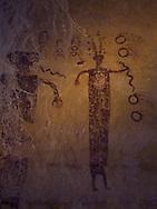 Head of Sinbad, pictograph, Utah