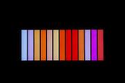 Coded Spectrum:  Saffron Fields Vineyard art, Yamhill-Carlton AVA, Willamette Valley, Oregon
