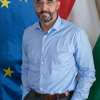 Zoltan Kovacs Secretary of State for International Communication and Relations, International spokesman, Cabinet Office of the Prime Minister in Hungary photographed during an interview in Budapest, Hungary on July 20, 2018. ATTILA VOLGYI