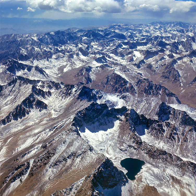 The Koh-i-Baba spur of the Hindu Kush Mountains rises between Herat and Mazar-i-Sharif, Afghanistan.