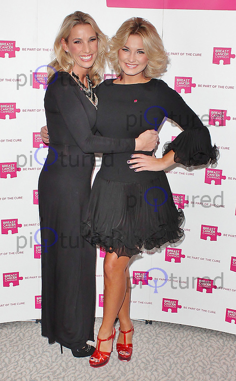 LONDON - October 13: Suzanne Wells & Sam Faiers at the Pink Ribbon Ball 2012 (Photo by Brett D. Cove)