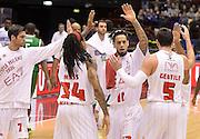 DESCRIZIONE : Milano campionato serie A 2013/14 EA7 Olimpia Milano Sidigas Avellino <br /> GIOCATORE : Daniel Hackett<br /> CATEGORIA : esultanza<br /> SQUADRA : Olimpia Milano<br /> EVENTO : Campionato serie A 2013/14<br /> GARA : EA7 Olimpia Milano Sidigas Avellino<br /> DATA : 29/12/2013<br /> SPORT : Pallacanestro <br /> AUTORE : Agenzia Ciamillo-Castoria/R. Morgano<br /> Galleria : Lega Basket A 2013-2014  <br /> Fotonotizia : Milano campionato serie A 2013/14 EA7 Olimpia Milano Sidigas Avellino<br /> Predefinita :