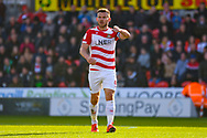 Andrew Butler of Doncaster Rovers (6) in action during the EFL Sky Bet League 1 match between Doncaster Rovers and Coventry City at the Keepmoat Stadium, Doncaster, England on 4 May 2019.