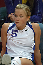 12 November 2006: Kali Karsten. .In the final regular season home game at ISU, the Northern Iowa Panthers defeated the Illinois State Redbirds 3 game to 1. The match took place at Redbird Arena on the campus of Illinois State University in Normal Illinois.<br />