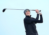 Eugene Smith (Ardee) on the 16th tee during Round 2 of the East of Ireland Amateur Open Championship at Co. Louth Golf Club, Baltray on Sunday 30th May 2015.<br /> Picture:  Thos Caffrey / www.golffile.ie
