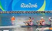"Rio de Janeiro. BRAZIL.   CRP M2X. Bow.  Martin  SINKOVIC and Valent<br /> SINKOVIC, 2016 Olympic Rowing Regatta. Lagoa Stadium,<br /> Copacabana,  ""Olympic Summer Games""<br /> Rodrigo de Freitas Lagoon, Lagoa. Local Time 12:06:11   Saturday  06/08/2016 <br /> <br /> [Mandatory Credit; Peter SPURRIER/Intersport Images]"