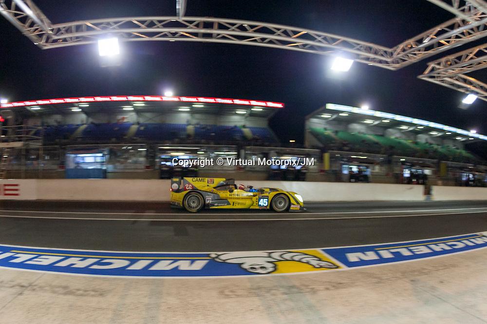 #45 Oreca 03R, Nissan, Ibanez Racing, Ivan Bellarosa, Jose Ibanez, Pierre Perret, Le Mans 24H 2015