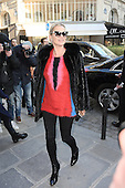 Kate Moss at Louis Vuitton fashion show