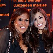 NLD/Amsterdam/20110925 - Benefietavond Red Sun Stichting Stop Kindermisbruik, Patty Brard en Yolanthe Sneijder - Cabau van Kasbergen