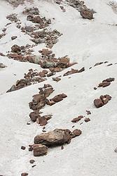 Rocks and volcanic tuff, Big Bend National Park, Texas, USA.