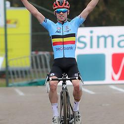 08-11-2020: Wielrennen: EK Veldrijden: Rosmalen<br /> European cyclocross title for Belgian Eli Iserbyt