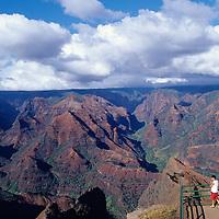 Hawaii, Kauai, Waimea Canyon, Grand Canyon of the Pacific