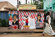 Mariatu Beauty Hair Dressing Saloon.  Freetown, Sierra Leone