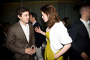 CASEY AFFLECK AND HAYLEY ATWELL .  ESQUIRE Editor Jeremy Langmead hosts a Salon/ dinner in honour of Casey Affleck. SUKA at Sanderson Hotel, 15 Berners Street, London. 28 May 2008 *** Local Caption *** -DO NOT ARCHIVE-© Copyright Photograph by Dafydd Jones. 248 Clapham Rd. London SW9 0PZ. Tel 0207 820 0771. www.dafjones.com.