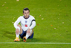 LEUVEN, BELGIUM - Sunday, November 15, 2020: England's Ben Chilwell during the UEFA Nations League Group Stage League A Group 2 match between England and Belgium at Den Dreef. (Pic by Jeroen Meuwsen/Orange Pictures via Propaganda)