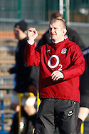 Picture by Andrew Tobin/Focus Images Ltd. 07710 761829.. 2/2/12. England scrum coach Graham Rowntree seen during the England team training session held for the first time at Surrey Sports Park, Guildford, UK, before their 6-Nations game against Scotland