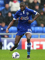 Ousmane Fane of Oldham Athletic  - Mandatory by-line: Matt McNulty/JMP - 03/09/2016 - FOOTBALL - Sportsdirect.com Park - Oldham, England - Oldham Athletic v Shrewsbury Town - Sky Bet League One
