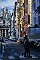 La Basilique du Sacre-Coeur from Pigalle, Paris