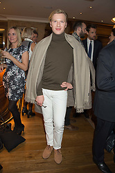 HENRY CONWAY at the launch of BAR20 at Birleys, 20 Fenchurch Street, City of London on 10th November 2015.