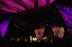 Lighting and Set Design Capture of The Dead in concert at Saratoga Performing Arts Center on 20 June 2003