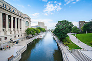 Government Conference Center on the Rideau canal, Ottawa,  Ontario, Canada