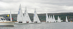Day1 Etchells Start off Greenock with one design fleet. <br /> <br /> The Scottish Series, hosted by the Clyde Cruising Club is an annual series of races for sailing yachts held each spring. Normally held in Loch Fyne the event moved to three Clyde locations due to current restrictions. <br /> <br /> Light winds did not deter the racing taking place at East Patch, Inverkip and off Largs over the bank holiday weekend 28-30 May. <br /> <br /> Image Credit : Marc Turner / CCC