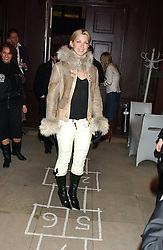 Actress MARGO STILLEY at a launch party for Kraken Opus's new luxury sports books held at Sketch, 9 Conduit Street, London W1 on 22nd February 2006.<br />