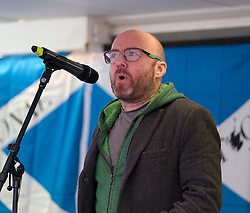 Independence Rally, Glasgow, Saturday 2nd November 2019<br /> <br /> Pictured: Patrick Harvie MSP<br /> <br /> Alex Todd | Edinburgh Elite media