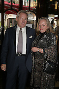 Nicholas and Annie Colquhoun-Denvers, PJ's Annual Polo Party . Annual Pre-Polo party that celebrates the start of the 2007 Polo season.  PJ's Bar & Grill, 52 Fulham Road, London, SW3. 14 May 2007. <br /> -DO NOT ARCHIVE-© Copyright Photograph by Dafydd Jones. 248 Clapham Rd. London SW9 0PZ. Tel 0207 820 0771. www.dafjones.com.