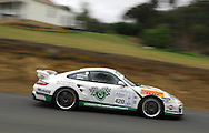 Jim Richards & Barry Oliver .2008 Porsche 911 GT2.Day 1.Targa Wrest Point 2009.Southern Tasmania.31st of January 2009.(C) Joel Strickland Photographics.