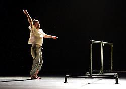 Balletboyz<br /> Life<br /> at Sadler's Wells, London, Great Britain <br /> Fiction by Javier de Frutos <br /> rehearsal <br /> 20th April 2016 <br /> <br /> Mark Galvez<br /> <br /> <br /> Photograph by Elliott Franks <br /> Image licensed to Elliott Franks Photography Services